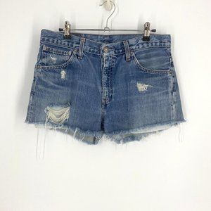 Levi's | High Waisted Jean Shorts Size 31